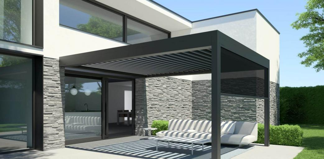 Image - pergola-b600s - B600 S Screen Outdoor living